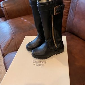 SOLD ON MERCARI Tucker + Tate black boots size 8